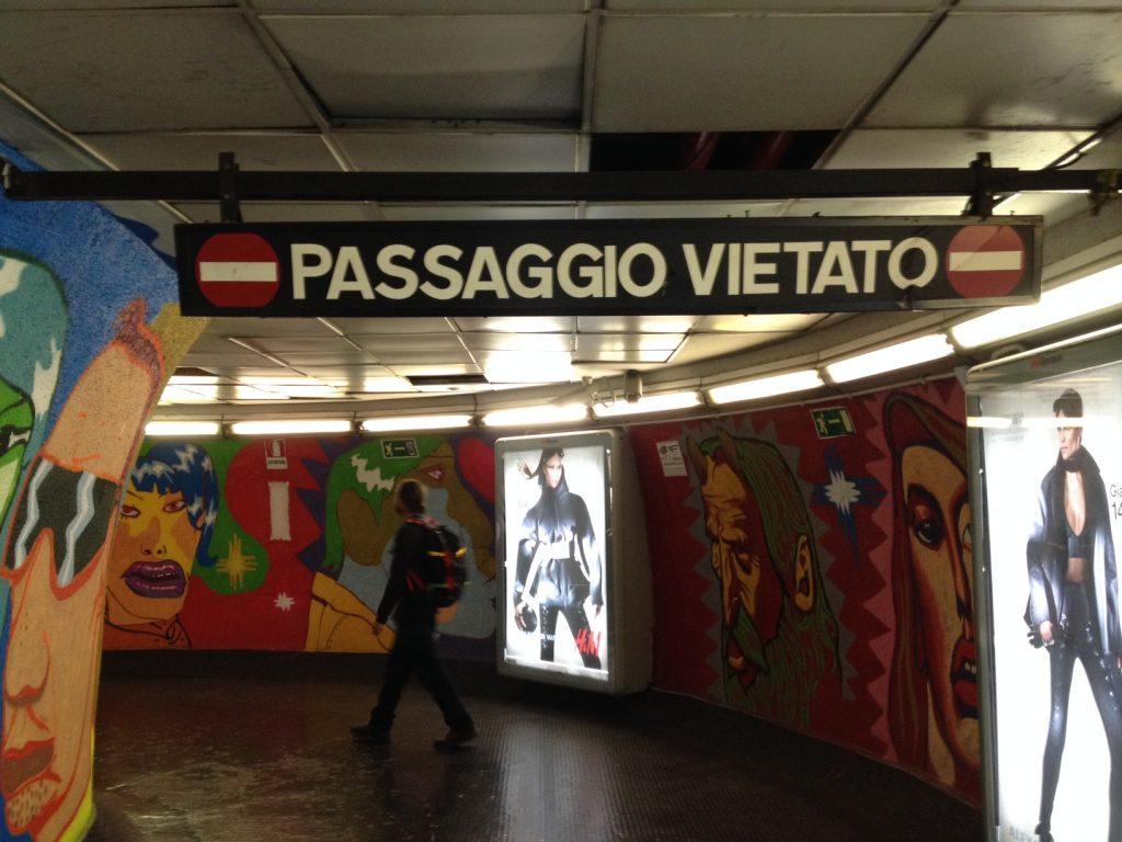 Subway, Rome