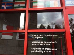 Internation Organization for Migration, Geneva