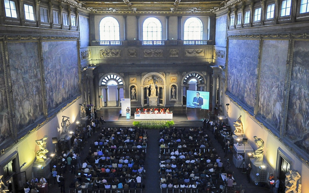 State of The Union - Salone dei Cinquecento panoramic picture