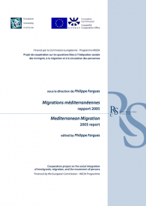 Mediterranean Migration Reports 2005 cover image