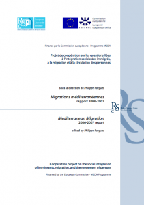Mediterranean Migration Reports 2006-2007 cover image