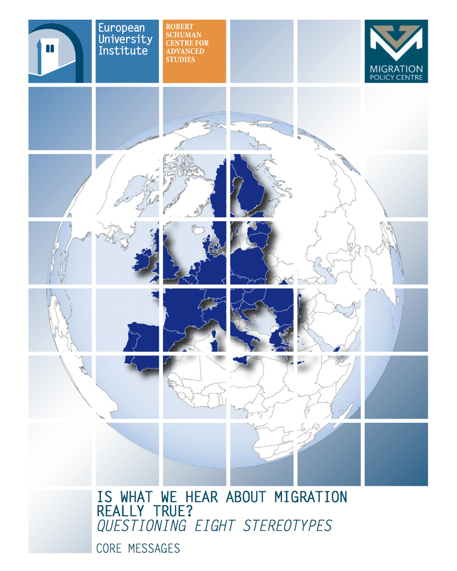Migration Stereotypes booklet cover image