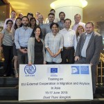 Photo group of the ETEM training participants