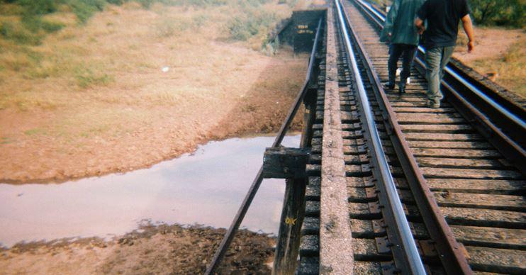 Railroad bridge picture