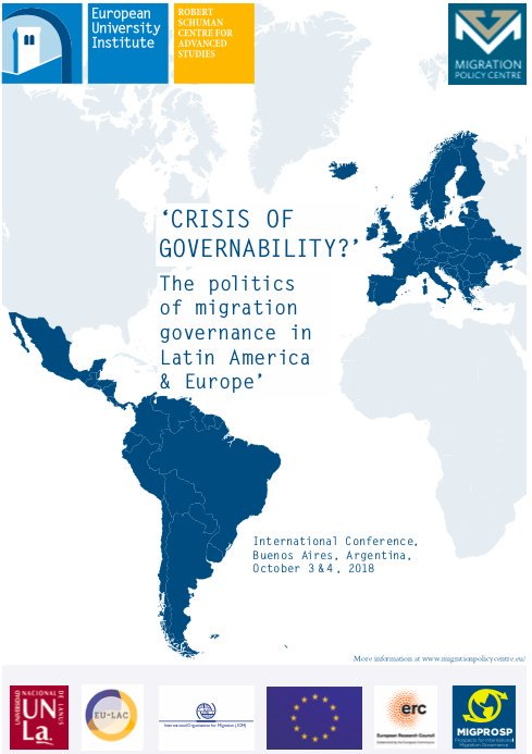 Conference: Crisis of Governability? The politics of ...